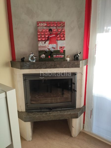 Salón comedor chimenea. Towny house with fireplace heating parking pool in Morell (El)