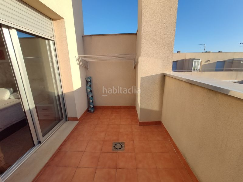 Terraza planta superior. Towny house with fireplace heating parking pool in Morell (El)
