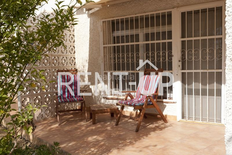 Terraza . Appartement mit heizung pool in Poble Nou-Montiboli Vila Joiosa (la)