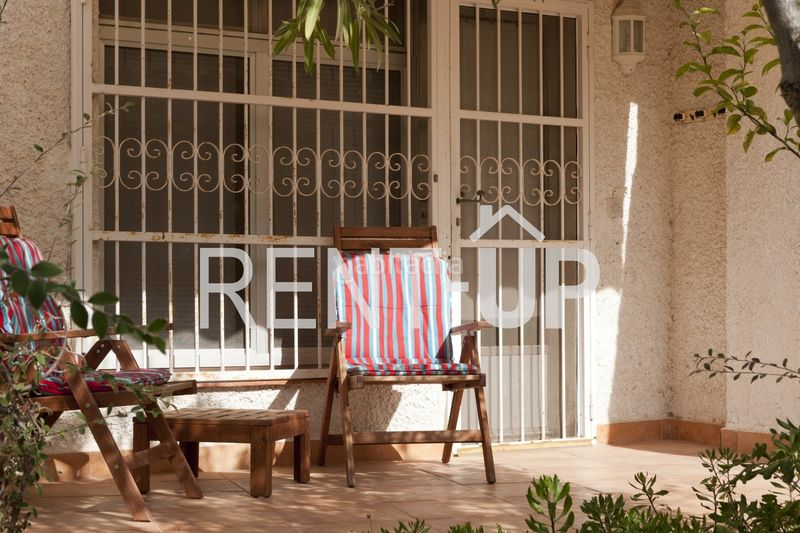 Terraza. Appartement mit heizung pool in Poble Nou-Montiboli Vila Joiosa (la)