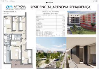 Appartamento in Passeig renaixença (de la), 21. Obra nueva