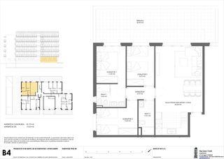 Erdgeschoss  Carrer d´en majo. Obra nueva. Neubau