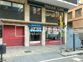 Rent Business premise in Sant Gervasi - Galvany. Excelente local comercial- alquiler - calle balmes -