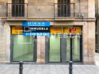 Lloguer Local Comercial en Gòtic. Local disponible en alquiler - barri gòtic - esquinero -