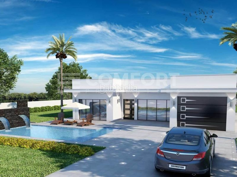 C-529-Comfort Properties_Modern villa under constr. Chalet mit parking pool in Sa Pobla