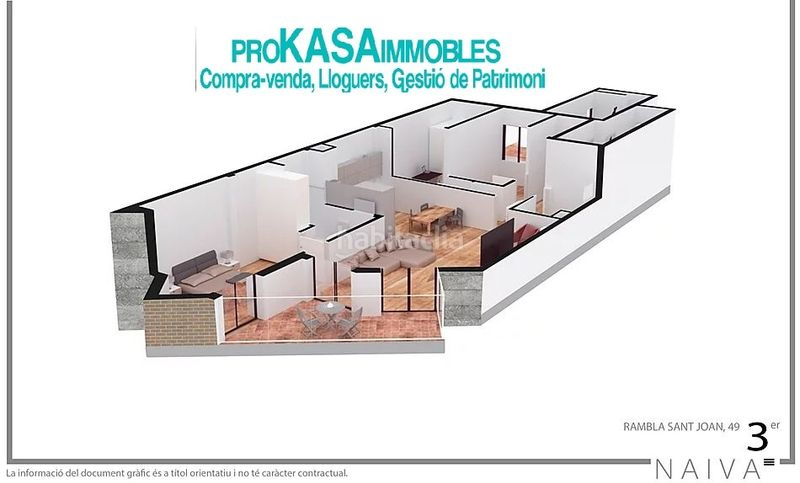 Edificio viviendas de obra nueva en   Badalona PROMOCION RAMBLA SANT JOAN 49