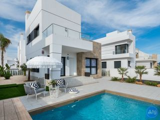 Casa en Rojales. Beautiful villa in ciudad quesada, costa blanca, spain - er8316