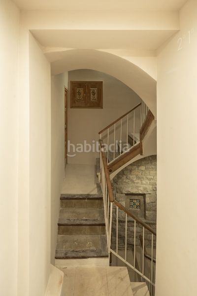Escalera. Appartement 62m<sup>2</sup> in carrer de l´argenteria in St. Pere - Sta. Caterina - El Born Barcelona