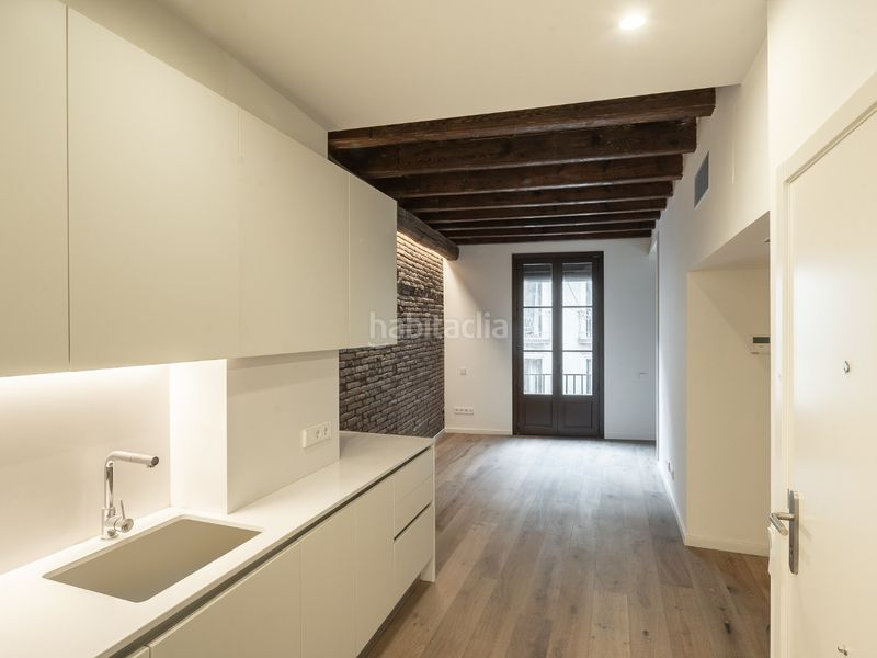 Cocina Piso 3-1. Appartement 62m<sup>2</sup> in carrer de l´argenteria in St. Pere - Sta. Caterina - El Born Barcelona