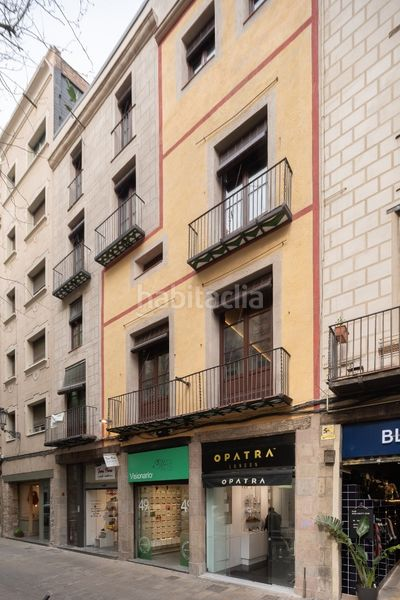 Fachada. Appartement 62m<sup>2</sup> in carrer de l´argenteria in St. Pere - Sta. Caterina - El Born Barcelona