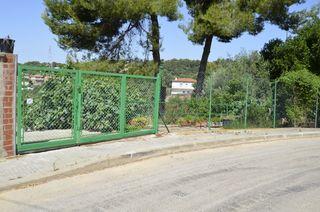 Terrain urbain  Carrer anwar al-sadat. Con muro de contención