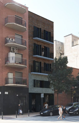 Edifici  Carrer creu roja. Edificio con licencia turística