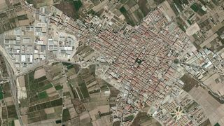 Urban plot in Almoradí. Zona tranquila