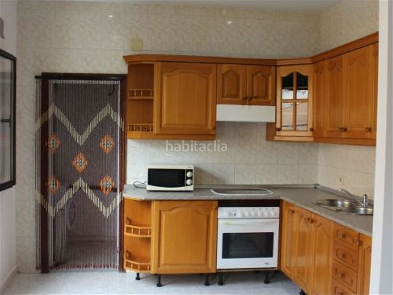 Cocina. Rent flat with heating in El Mercat Palma de Mallorca