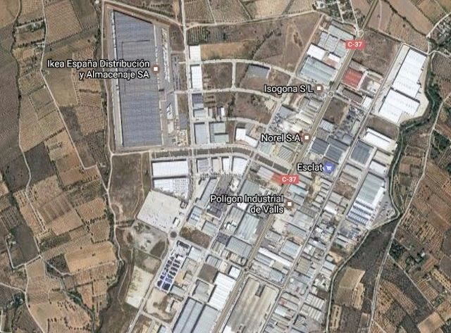 Area edificabile industriale in Carrer sabaters, 100. Parcela industrial venta valls