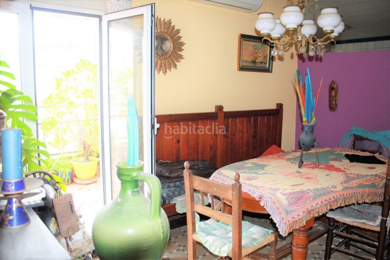 Comedor. House with fireplace heating parking in Canet de Mar