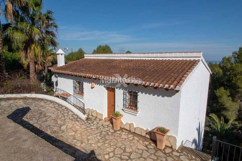 Foto 21456-img47-2528. Casa private villa for sale monte with communal tennis courts en Pego