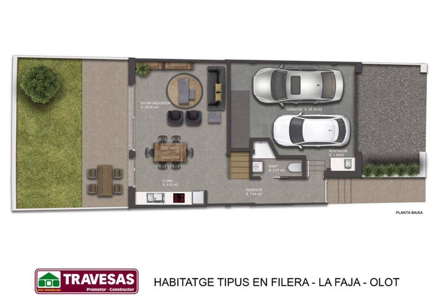 Semi detached house in Carrer Llenyataire, Del