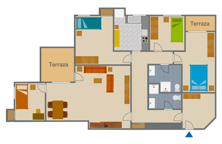 Appartamento  Pobla llarga nº 13. Espectacular piso en benimaclet