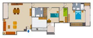 Apartament  Emilio baro 23. Luminosa vivienda perfectamente