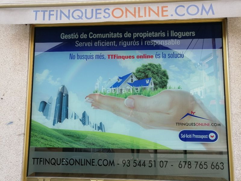 TTFINQUESONLINE . Locale commerciale in carrer sol in Centre Mollet del Vallès