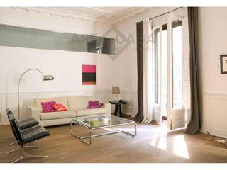 Affitto Piccolo appartamento  En la dreta de l´eixample, ascensor, barcelona. Piso moderno de diseño, 2hab, 2 baños, sin muebles, ascensor, ba