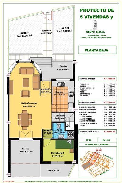 Carrer Llastres (bo. Llastres), 28 Casas unifamiliares Miami Platja