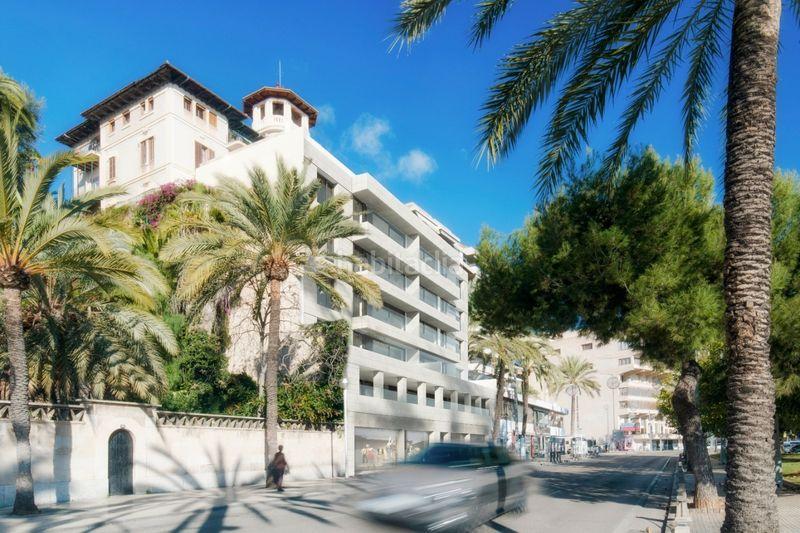 Vista exterior promoción Edificio viviendas Palma de Mallorca