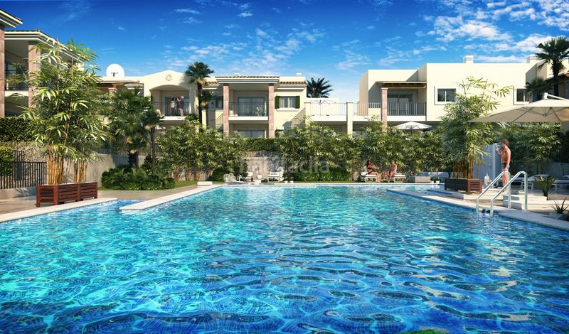 Blue Cove - Cala Lliteras. Development Blue Cove, Cala Lliteras in Capdepera. Residential building of new buildings