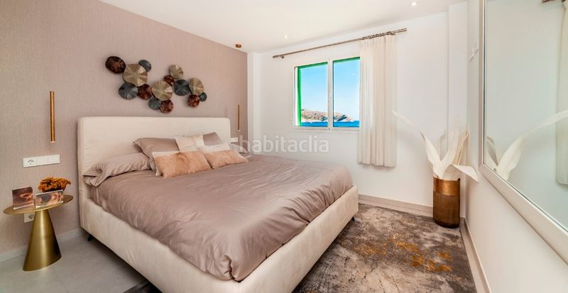Habitación principal. Development Blue Cove, Cala Lliteras in Capdepera. Residential building of new buildings