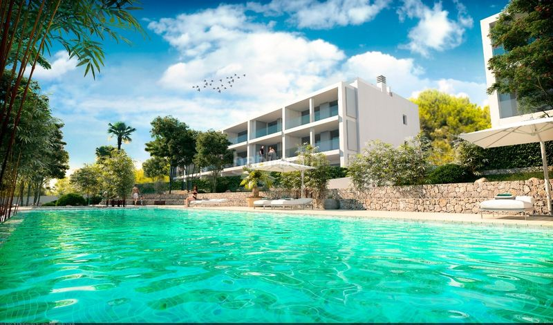Sunset Ibiza - apartments with sea views. Apartament 81m<sup>2</sup> a carrer cala gracio 1 a Sant Antoni de Portmany