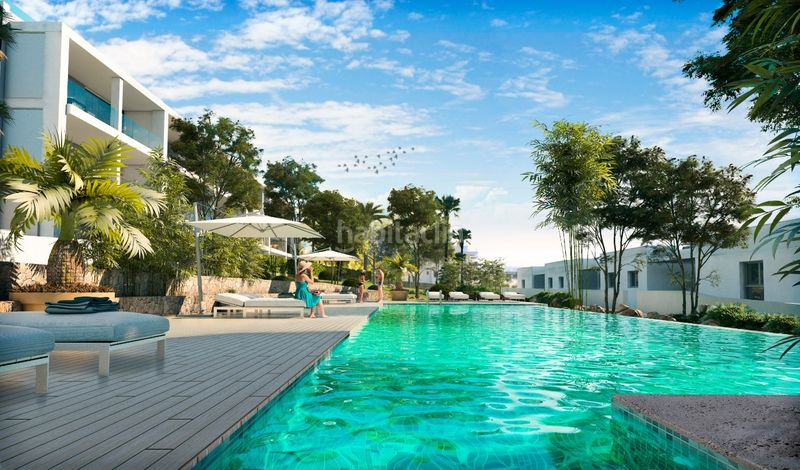 Sunset Ibiza - Swimming pool. Apartament 81m<sup>2</sup> a carrer cala gracio 1 a Sant Antoni de Portmany