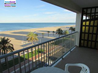 Location Appartement à Centro Ciudad. Alquiler de estudio con vistas al mar de la playa de gandia