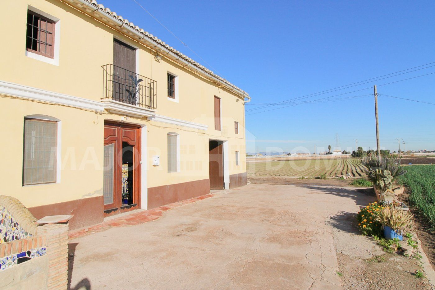 Masia en Ausias March. Alquer?a disponible en venta en alboraya.