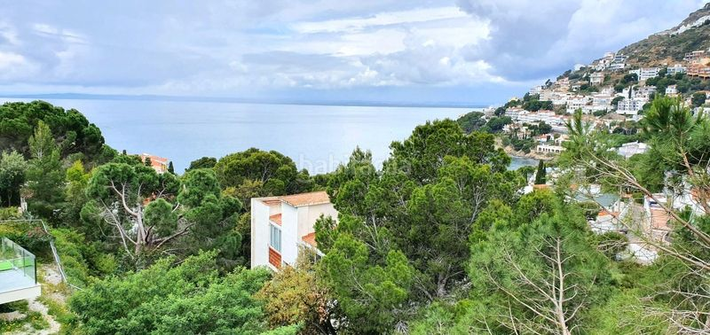 VUE DE L´ APPARTEMENT. Apartment with heating in Puig Rom-Canyelles-Almadrava Roses