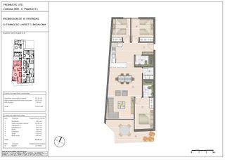 Flat  Carrer francesc layret. Obra nueva. New building