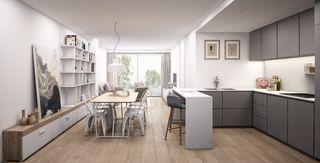 Apartment Carrer Begur, 32. Apartment in sale in barcelona, badal by 395000 eur. obra nueva