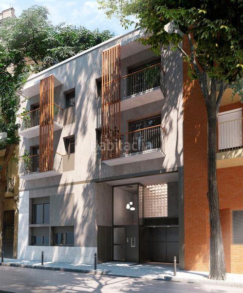 Fachada Edificio viviendas Barcelona