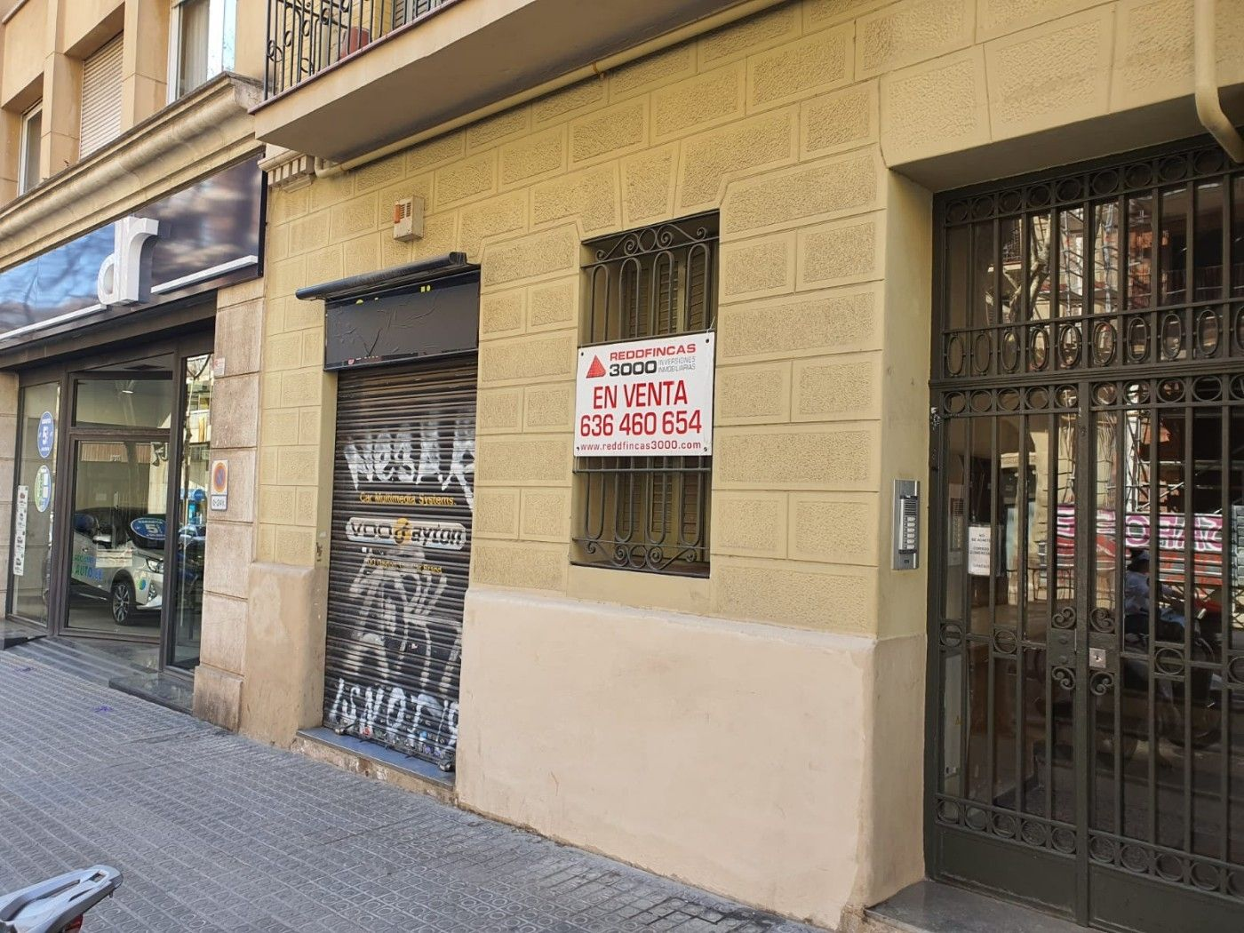 Geschäftsraum in Carrer cartagena, 207. Local en venta en encants nous