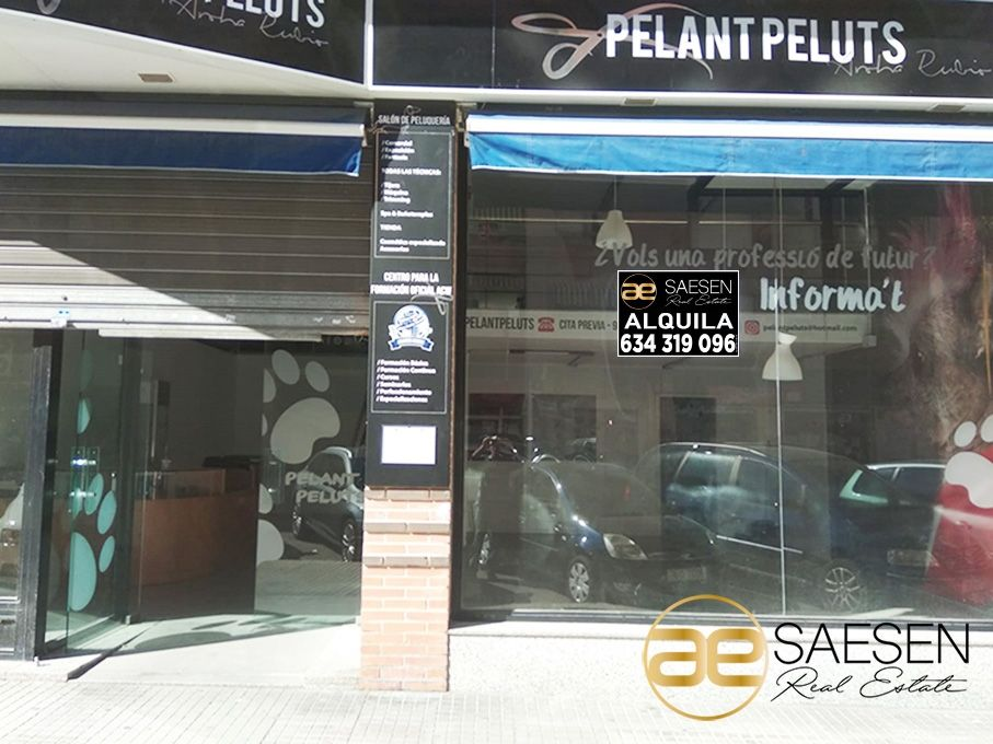 Rent Business premise  Zonas hospital viejo. Local comercial en gandia