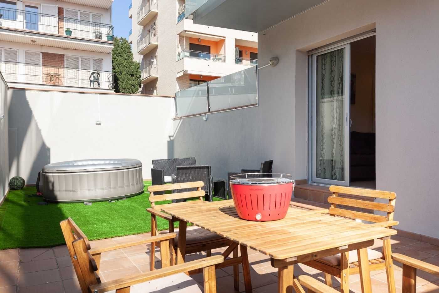 Location saisonnière Appartement à Carrer sant jordi, 7. Sea& beach family apartments