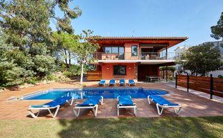 Haus Monaco, 2. Haus in ferienwohnungen in lloret de mar, canyelles costa brava