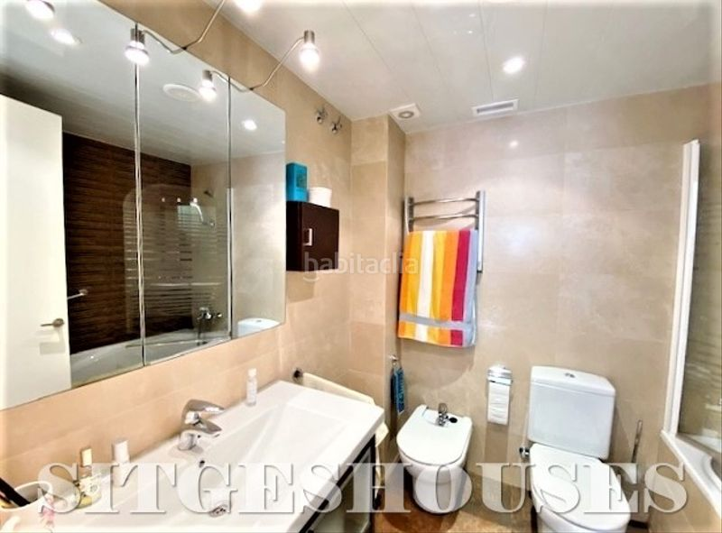 Baño suite. Flat with heating in Centre Sitges