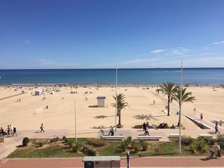 Location Appartement  Paseo marítimo de neptuno. Playa de gandia 1ª linea