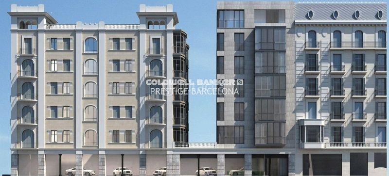 Edifici habitatges d´Obra nova a   Esquerra Alta de l´Eixample Barcelona DIAGONAL RESIDENCES