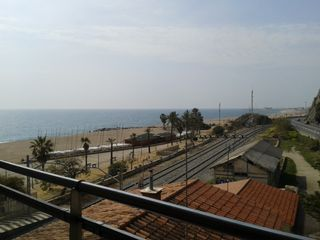 Rent Flat  Playa-renfe. Piso con vistas al mar