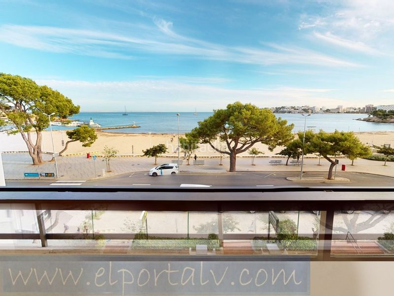 Vista. Rent flat in carrer calvia   (p.nova) in Palmanova Calvià
