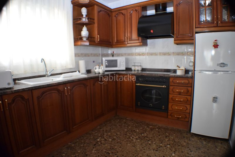 COCINA. House with fireplace heating parking in Urbanitzacions Torredembarra