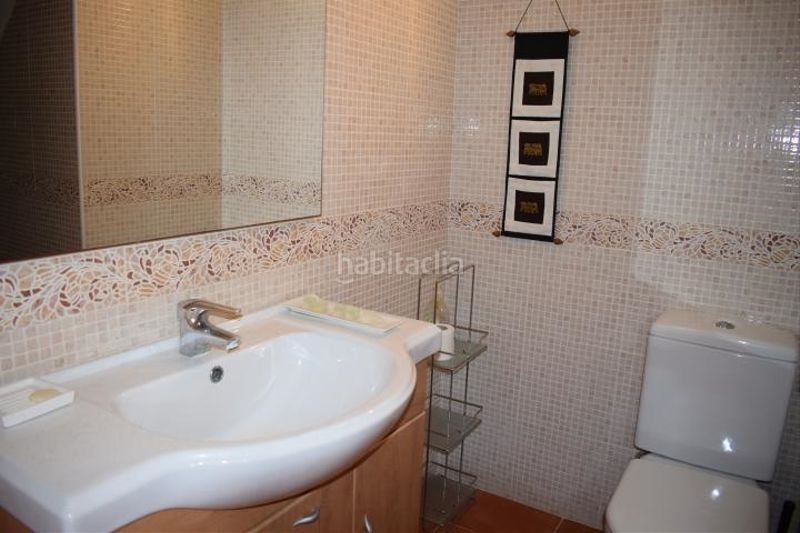 baño. Miete appartement mit parking pool in Platja-Els Munts Torredembarra