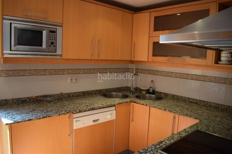 cocina. Miete appartement mit parking pool in Platja-Els Munts Torredembarra